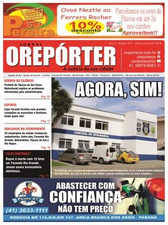 Photo of O Reporter 372 versão web